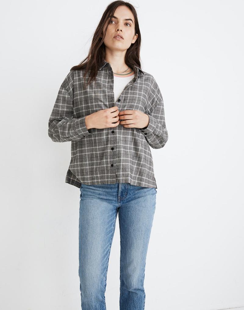 Madewell Plaid Westlake Shirt $79.50