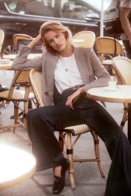 Edita Vilkeviciute stars in Massimo Dutti Living in the City fall-winter 2020 editorial.