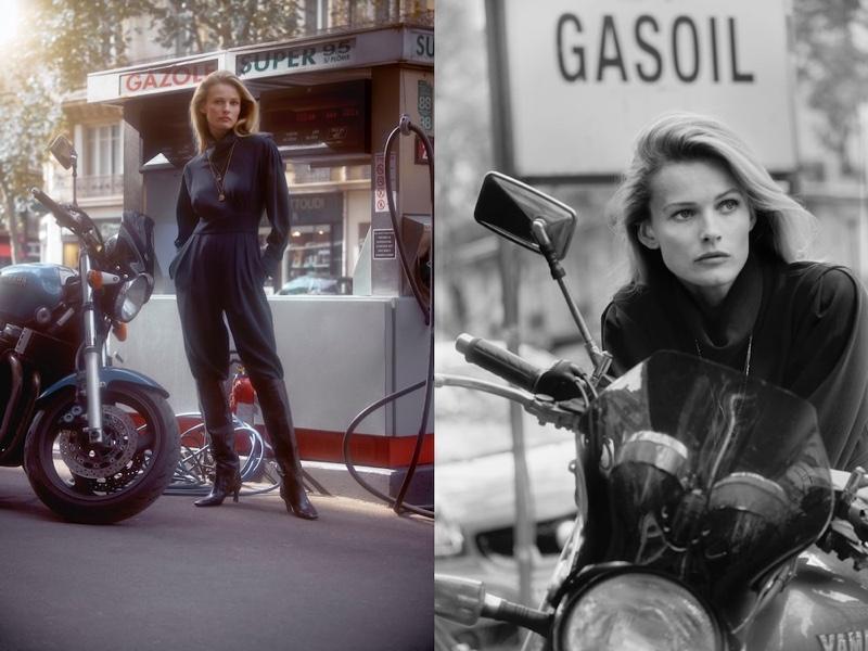 Edita Vilkeviciute Poses in Massimo Dutti's Chic Street Styles