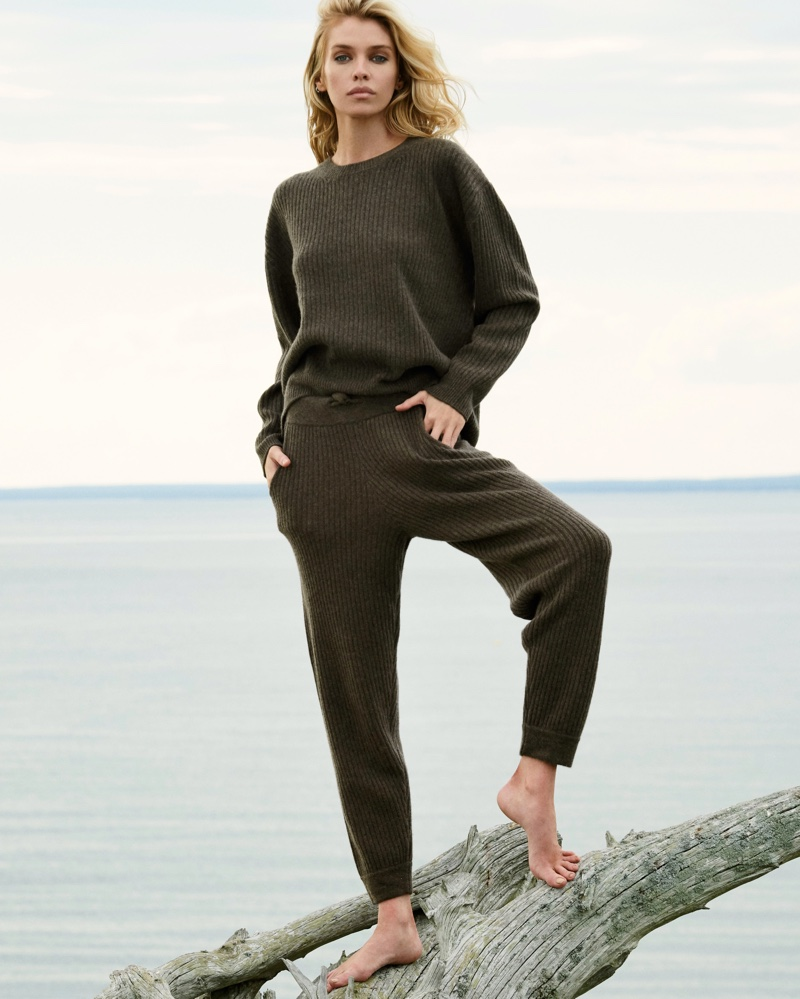 Stella & Taelor Head Outdoors in Naked Cashmere Fall 2020 Campaign