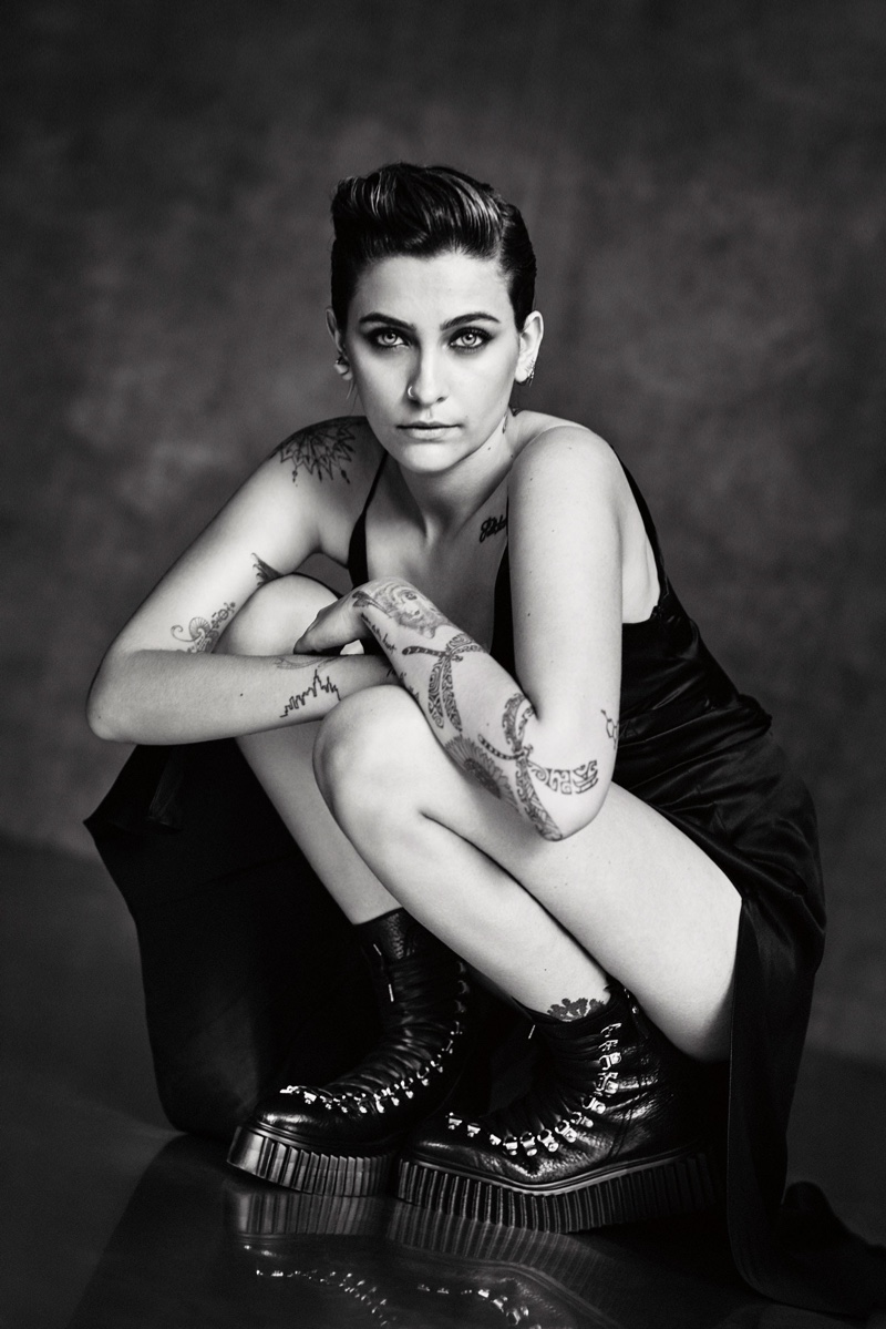 Paris Jackson appears in AGL Shoes fall-winter 2020 campaign.