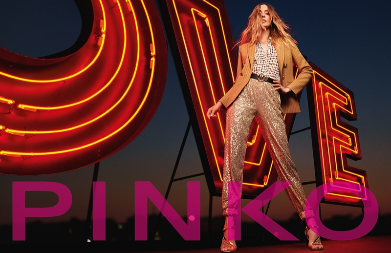 Pinko unveils its fall-winter 2020 campaign.