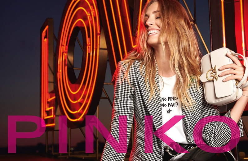 An image from Pinko's fall 2020 advertising campaign.