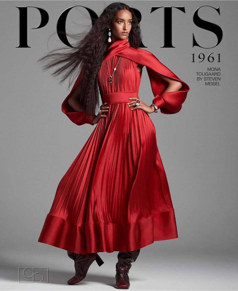 Mona Tougaard fronts Ports 1961 fall-winter 2020 campaign.