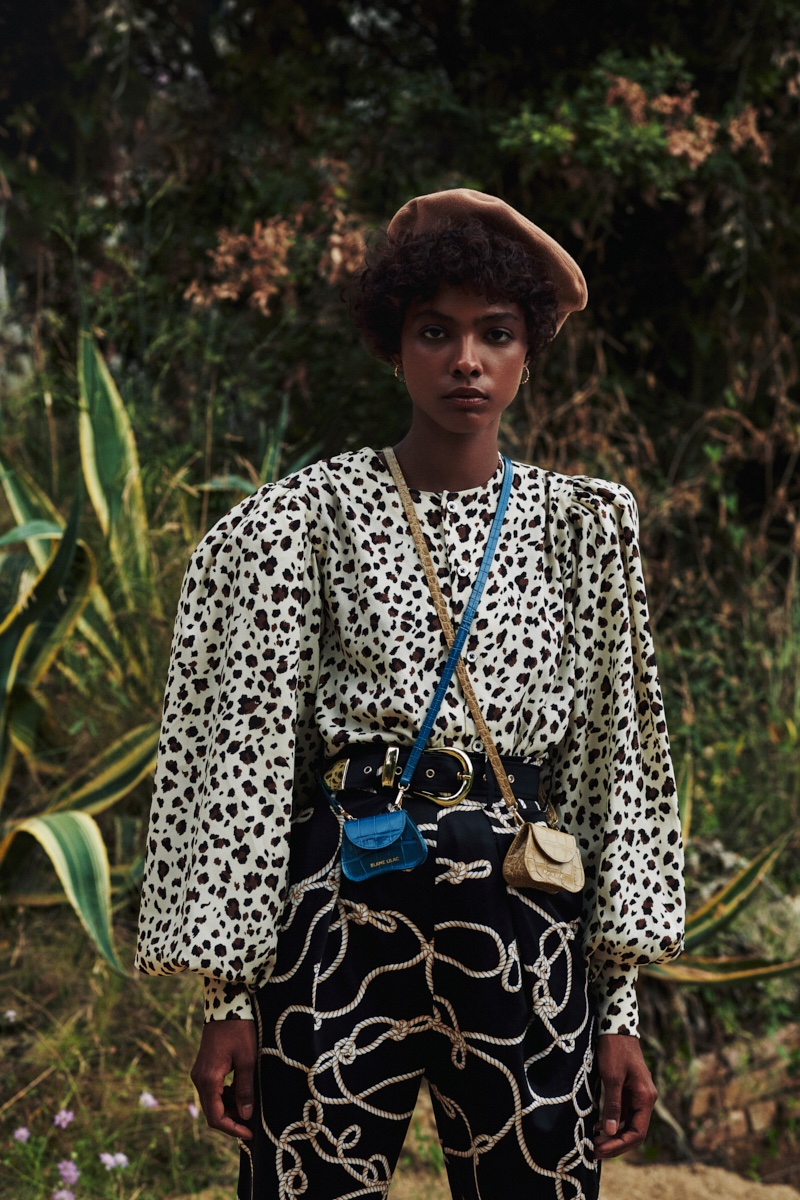 Ramona Cuervo Models Bold Fashion for Marie Claire Argentina