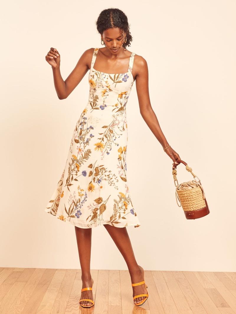 Reformation Camari Dress $218