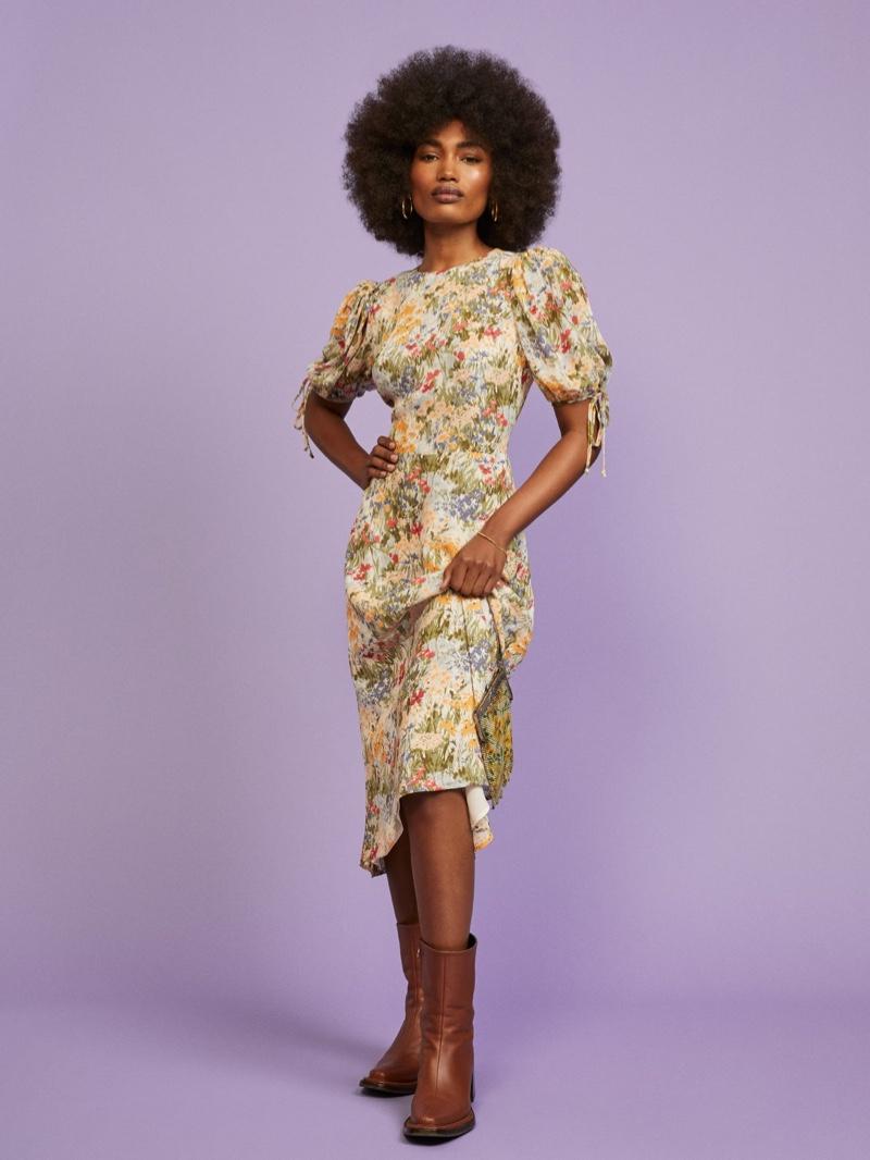 Reformation Oakley Dress $218