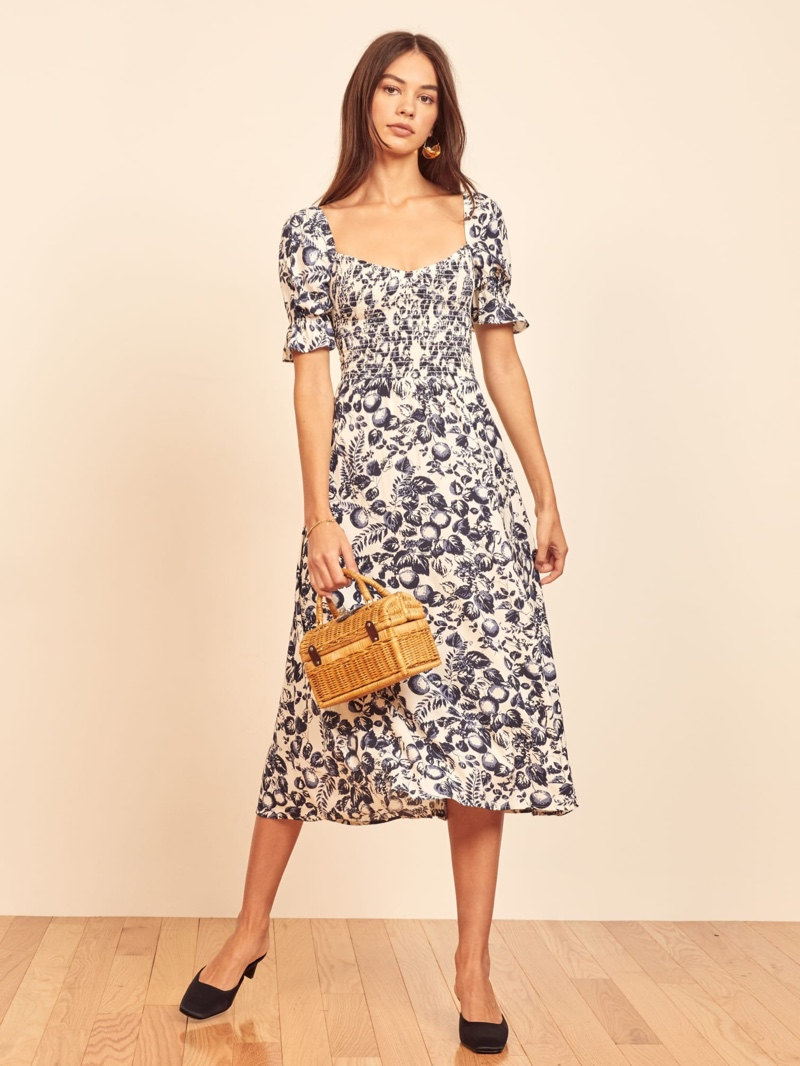 Reformation Parsley Dress in Orangerie $278