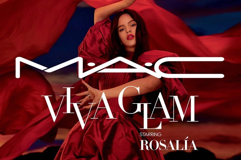 MAC Cosmetics taps Rosalia as its latest Viva Glam ambassador.
