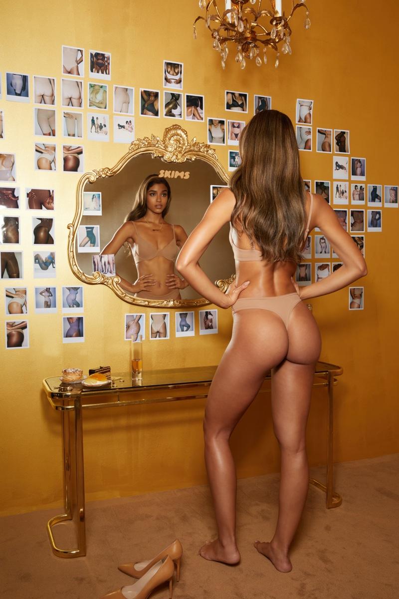 Kim Kardashian Leads SKIMS One Year Anniversary Campaign