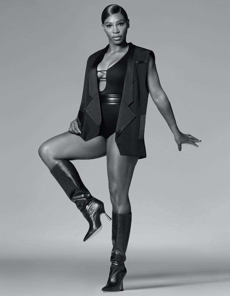 Serena Williams stars in Stuart Weitzman fall-winter 2020 campaign.