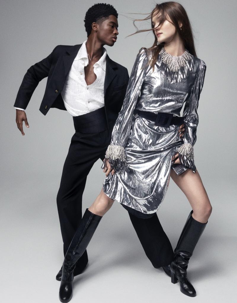 Shayna & Alton Take the Spotlight in L'Officiel USA
