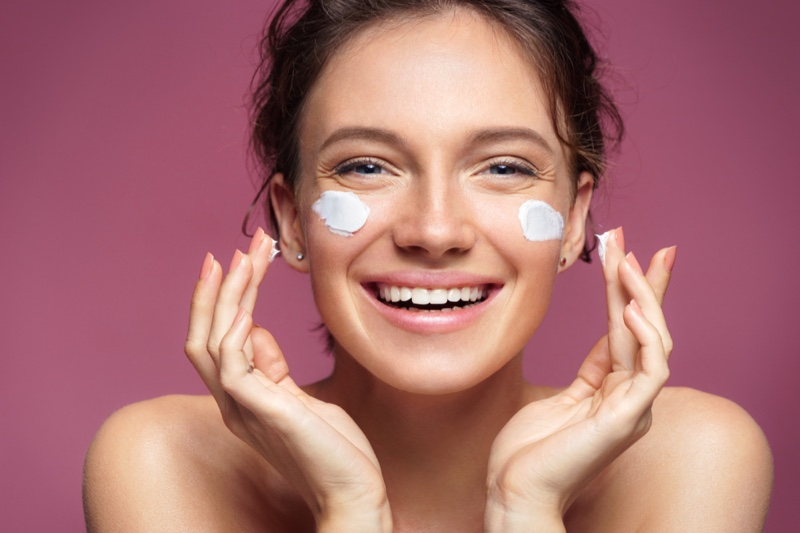 Skincare Cream Face Beauty Happy Girl