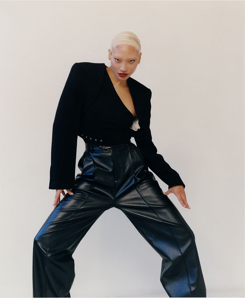 Soo Joo Park Poses in Cutting Edge Looks for The WOW Magazine