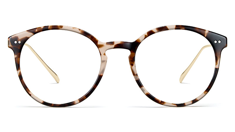 Warby Parker Langley Glasses in Opal Tortoise with Riesling $145