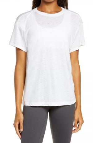 Women's Free People Fp Movement Keep Rolling T-Shirt, Size X-Small - White