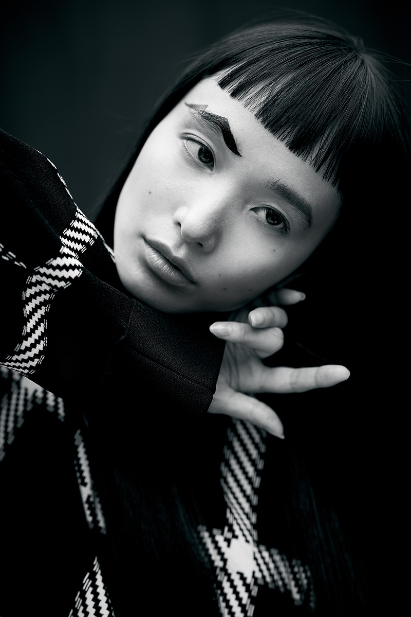 Yuka Mannami Models Statement Styles for The WOW Magazine