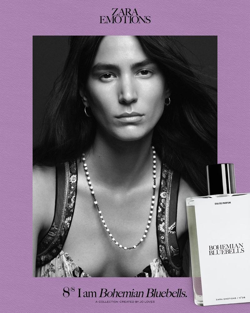 Mijo Mihaljcic stars in Zara Emotions fragrance campaign.