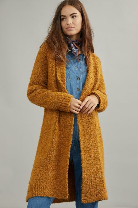 Anthropologie Lilla Cardigan in Maize $148