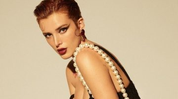 Bella Thorne Turns Up the Heat for Grazia Italy