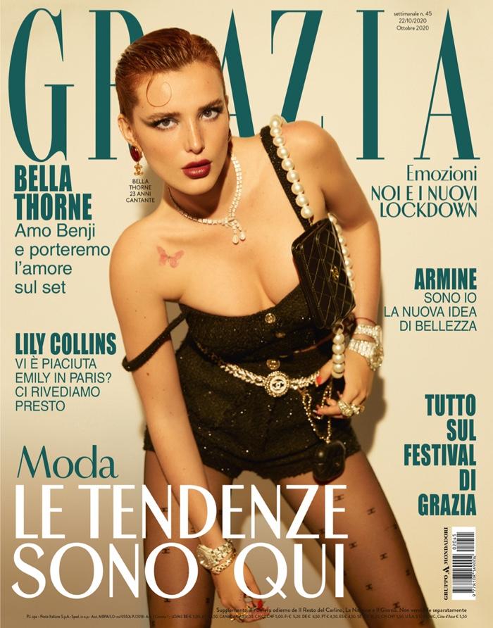 Bella Thorne on Grazia Italy October 2020 Cover