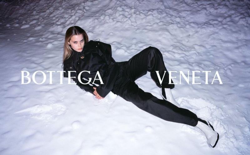 Bottega Veneta taps Abbey Lee Kershaw for fall-winter 2020 campaign.