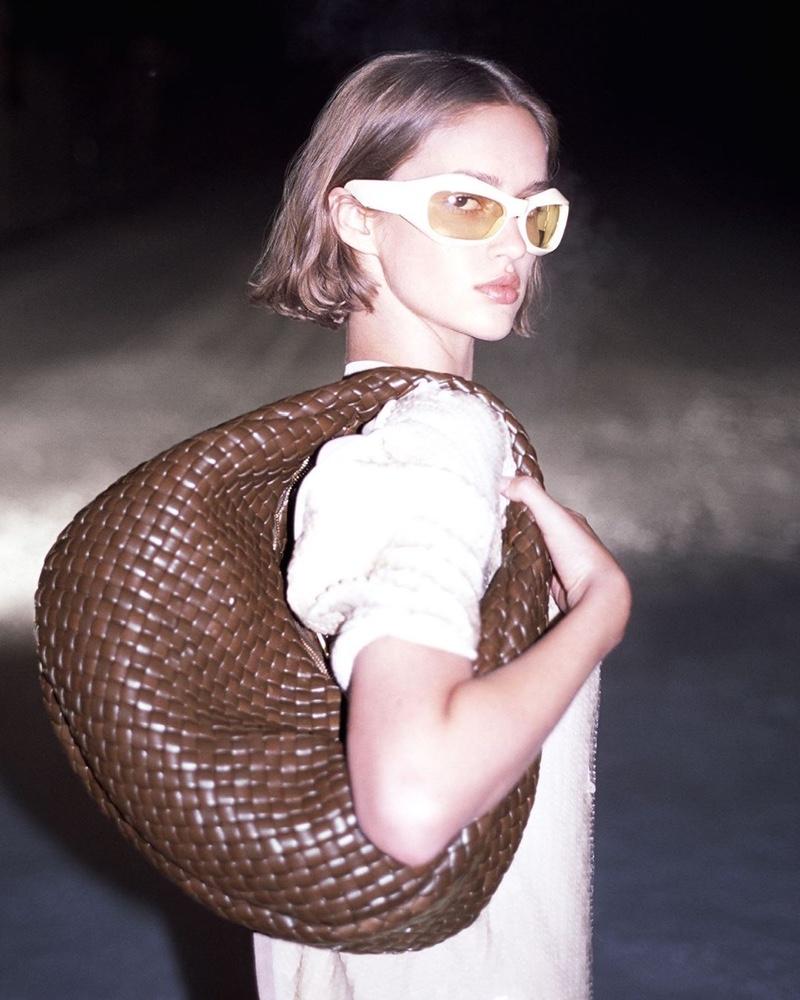 Abbey Lee, Mona, Quinn Hit the Snow in Bottega Veneta Fall 2020 Campaign