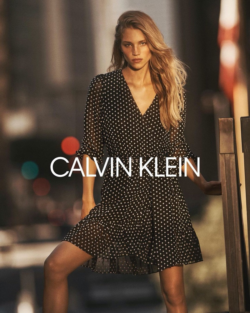 Rebecca Leigh Longendyke appears in Calvin Klein fall-winter 2020 campaign.
