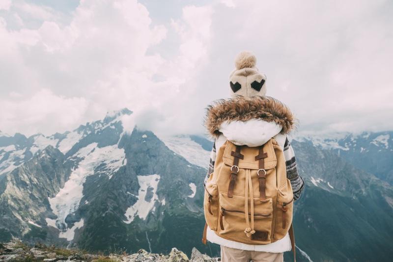 Child Mountain Backpack Jacket Hiking