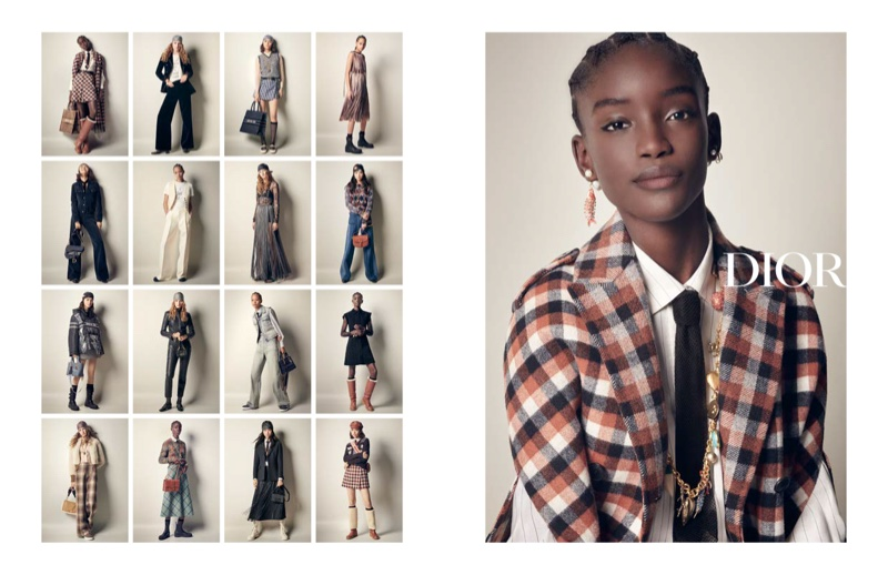 Selena, Felice, Maty Front Dior Fall 2020 Campaign
