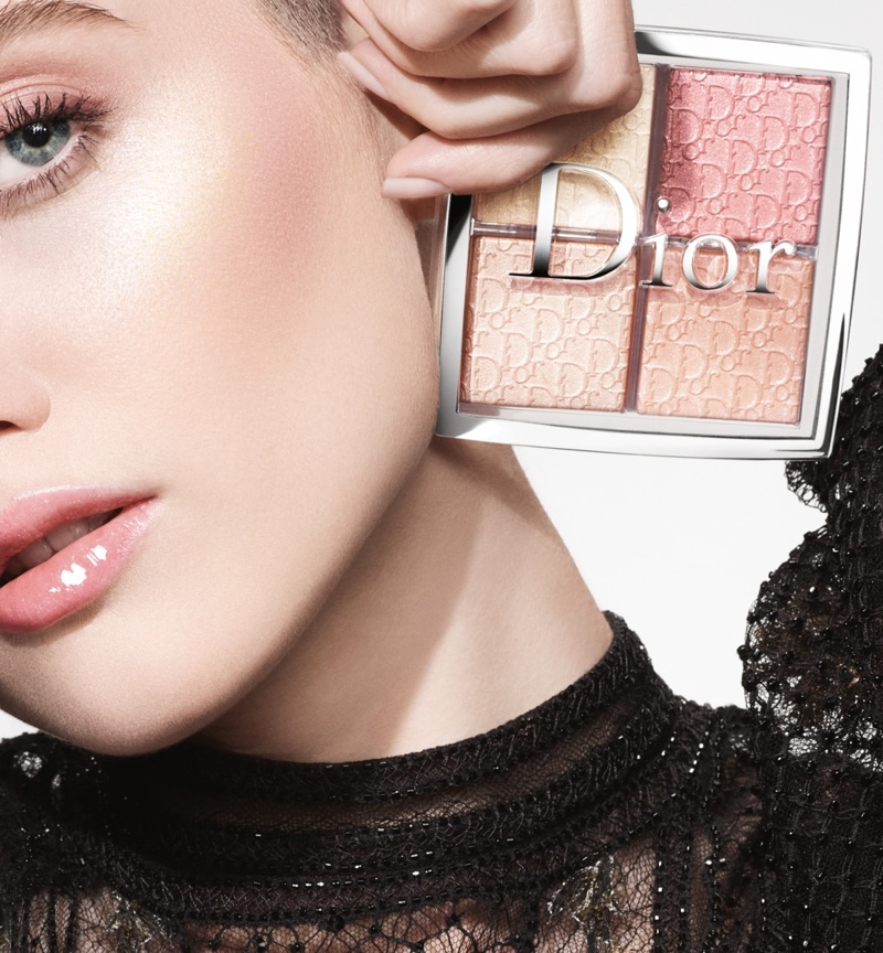 Ruth Bell fronts Dior Makeup Backstage - Holiday 2020 campaign.