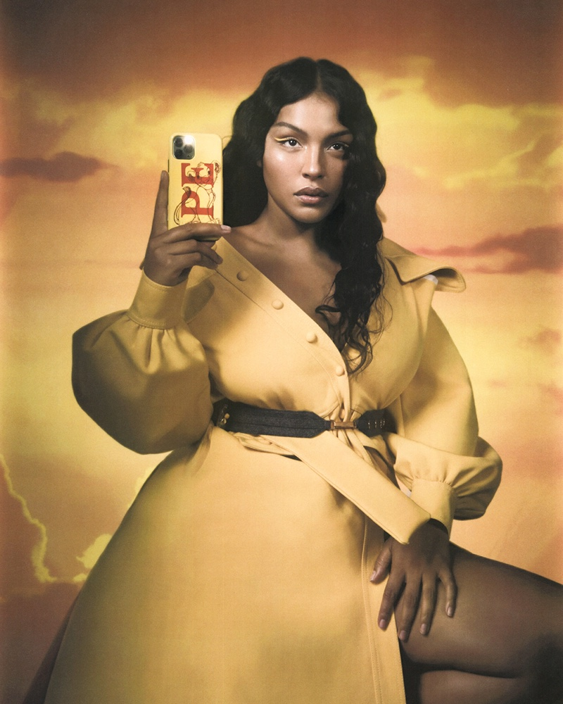 Paloma Elsesser channels Simba for CHAOS x Disney Classics.