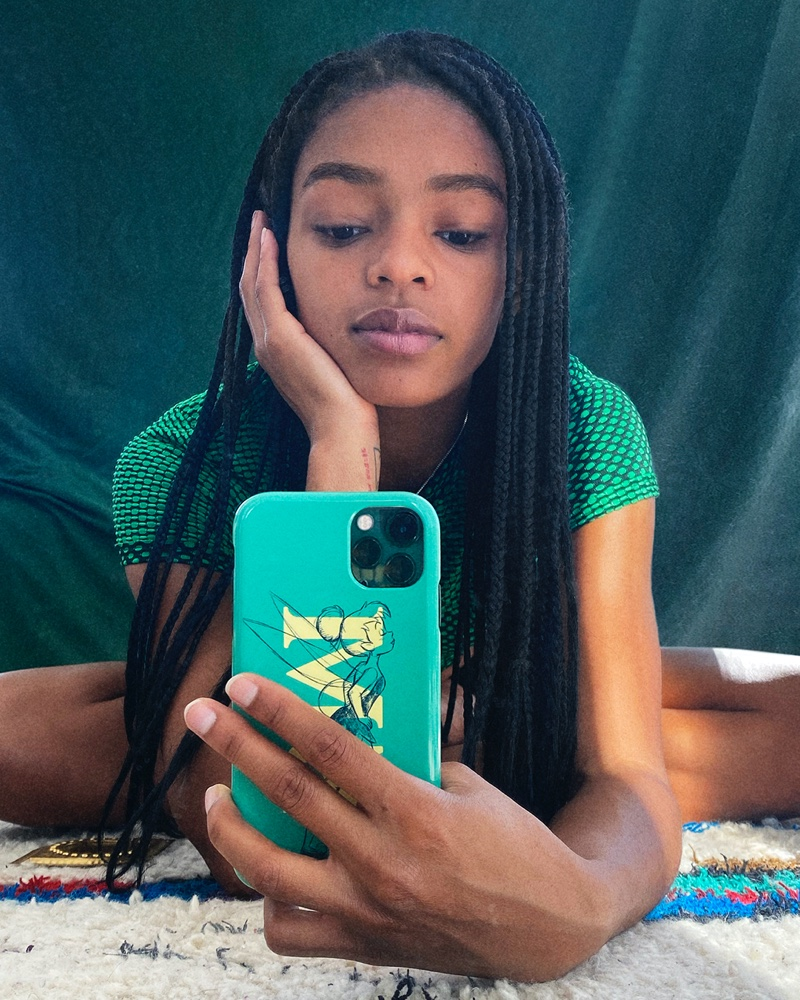 Selah Marley channels Tinker Bell for CHAOS x Disney Classics.
