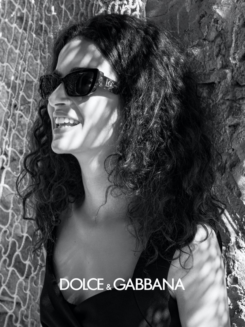 An image from Dolce & Gabbana eyewear's fall 2020 advertising campaign.