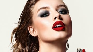 Dolce & Gabbana unveils Passionlips Lipstick campaign with Giulia Maenza.