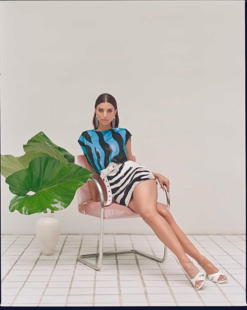 Nasty Gal x EMRATA focuses on 1980s inspired designs for fall-winter 2020.