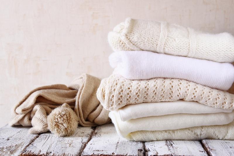 Folded Cashmere Sweaters Knitwear