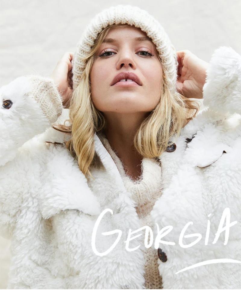 Georgia May Jagger fronts Free People fall 2020 catalog.