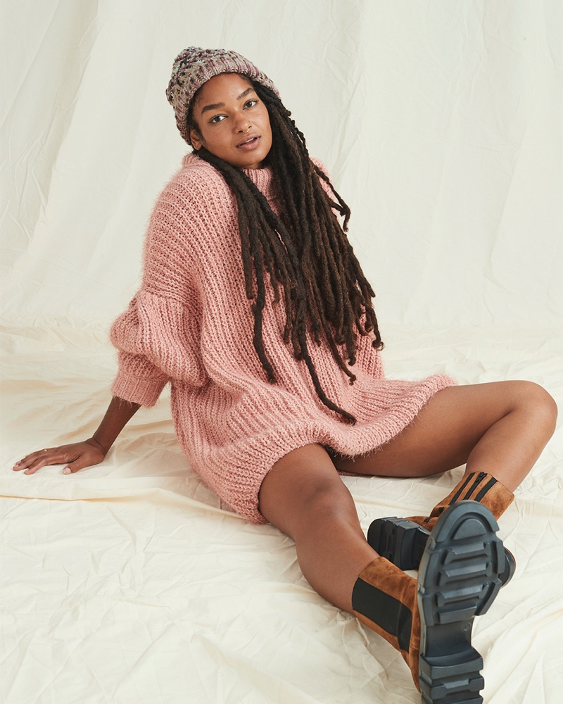 Indya, Georgia May, Daphne Layer Up in Free People Fall 2020 Styles