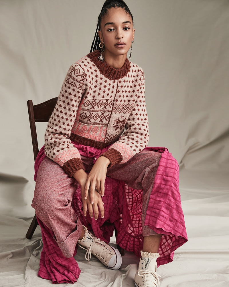 An image from Free People's The Creative Spirit fall 2020 catalog.
