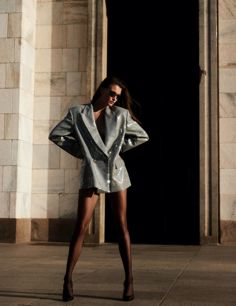 Hilal Ata Smolders for the Pages of Vogue Greece