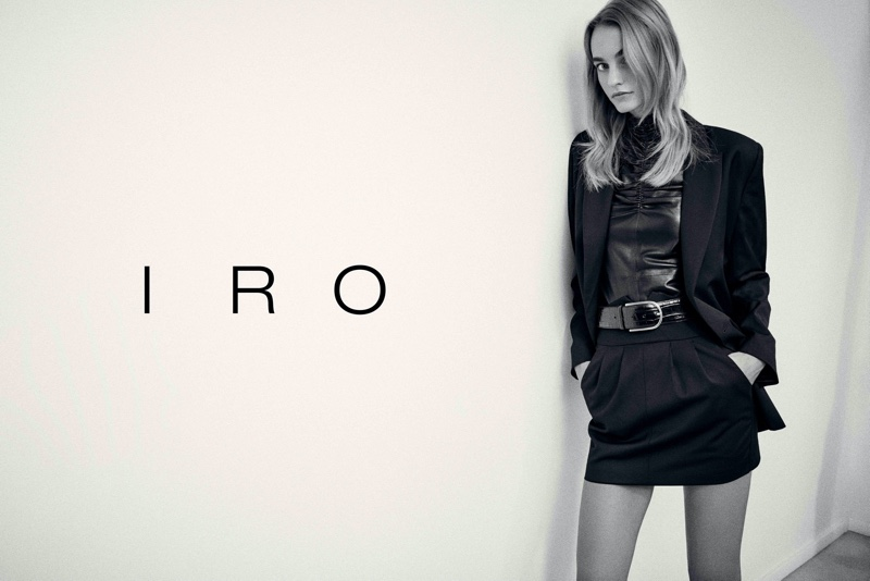 An image from IRO's fall 2020 advertising campaign.