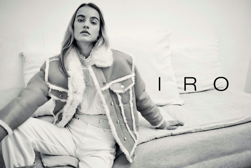 IRO taps Maartje Verhoef for fall-winter 2020 campaign.