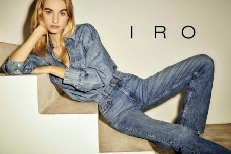 IRO focuses on denim for fall-winter 2020 campaign.