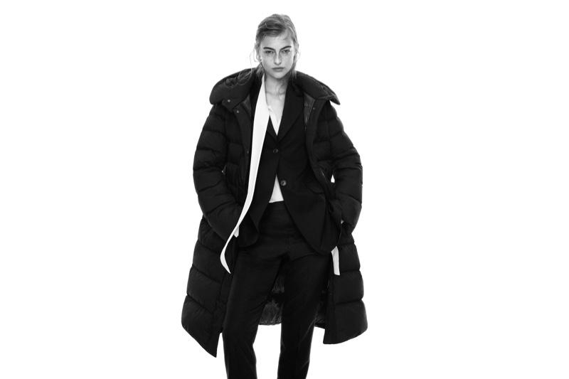 Berit Heitmann stars in Uniqlo +J fall-winter 2020 campaign.