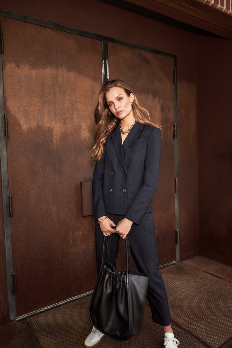 Dynamite taps Josephine Skriver for fall 2020 campaign.