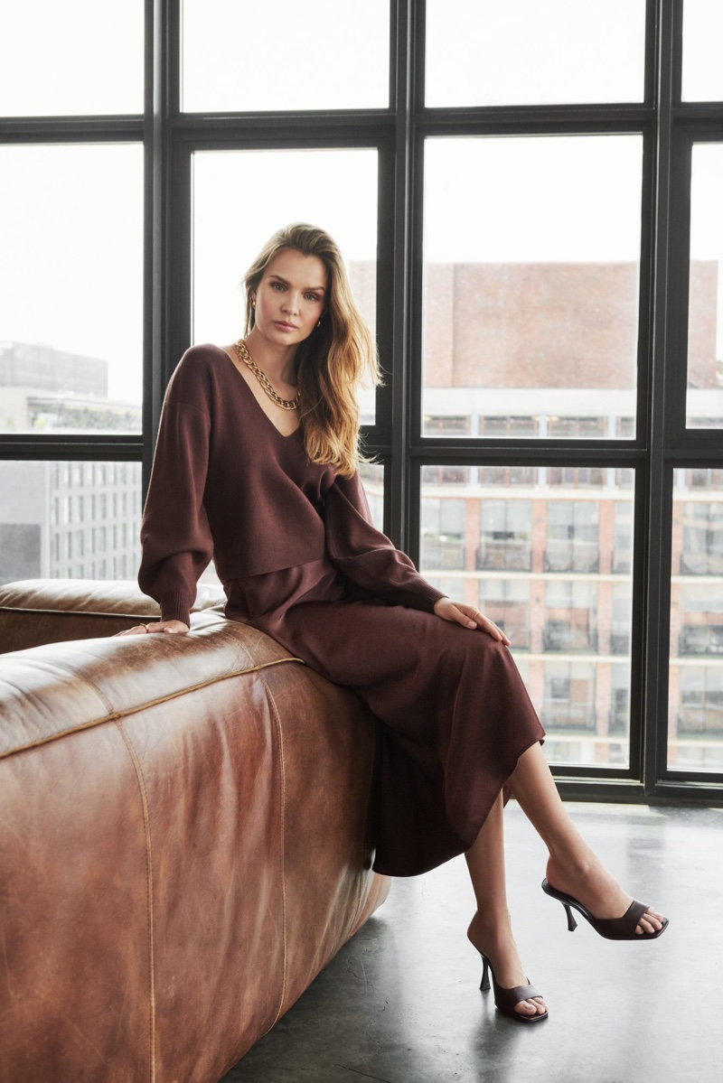 Josephine Skriver fronts Dynamite fall 2020 campaign.