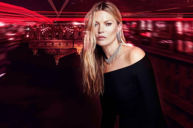 Supermodel Kate Moss teams up with Messika on high jewelry collection.