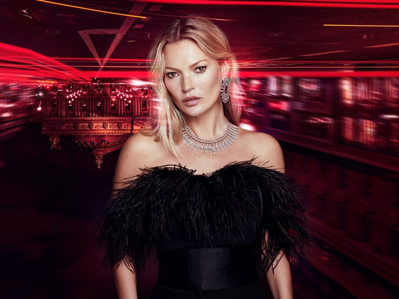 Kate Moss designs jewelry for Messika.