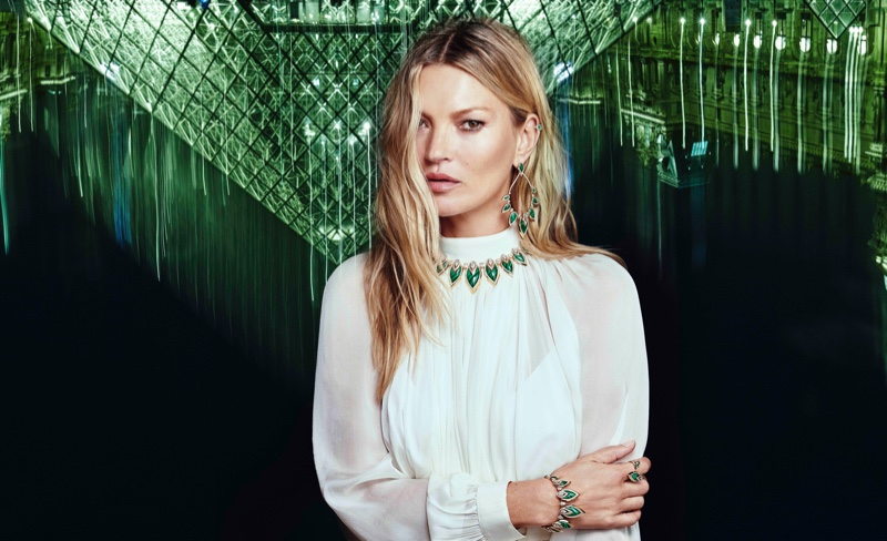Kate Moss stars in Messika by Kate Moss campaign.